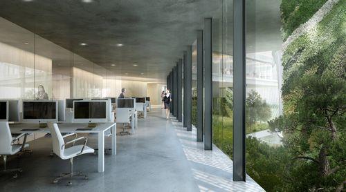 А китае строят фэшн-центр в футуристическом стиле (9 фото)