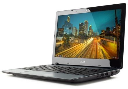 Acer выпустил самый дешевый «хромбук»