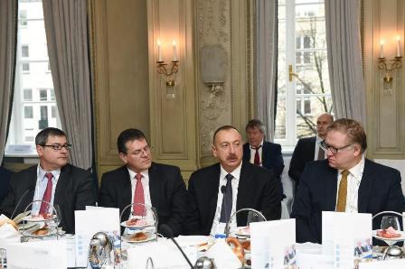 Алиев: наша цель— завершить проект «южный газовый коридор» до2020 года - «энергетика»