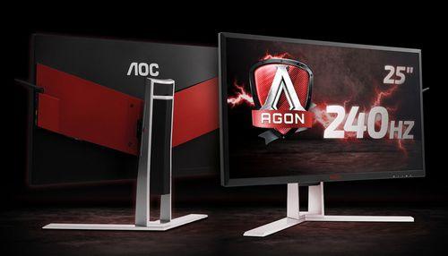 Aoc начала российские продажи мониторов agon ag251fz с частотой 240 гц. фото, цена
