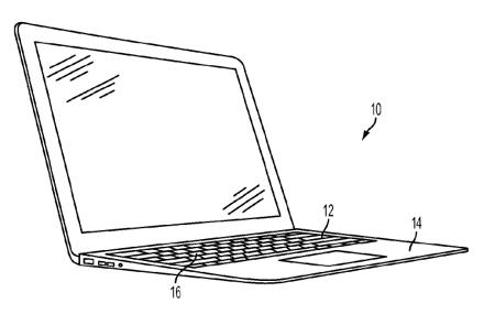 Apple патентует улучшенную клавиатуру артемия лебедева
