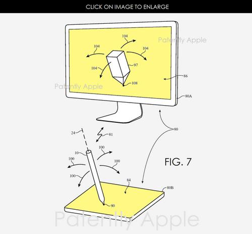 Apple pencil можно будет использовать в качестве джойстика для компьютера