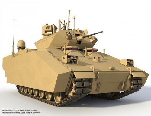 Army getting new hybrid tank that shoots baddies while saving gas (6 pics)