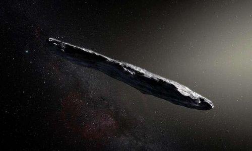 Астрономы eso обнаружили первый межгалактический астероид сигарообразной формы