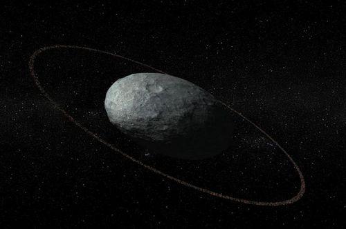 Астрономы случайно обнаружили самое отдаленное кольцо вокруг карликовой планеты