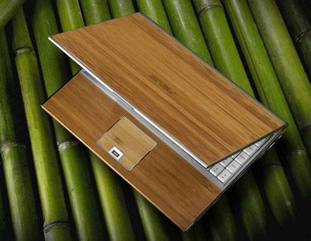 Asus показал ноутбуки в бамбуке