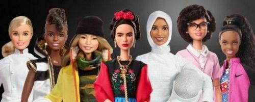 Barbie выпущена новая линейка кукол по образам известных женщин