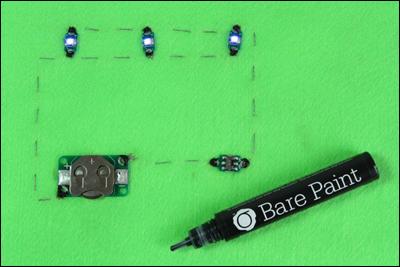 Bare paint: как нарисовать электрическую цепь