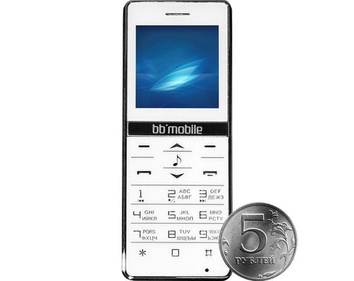Bb-mobile micron-4 - bluetooth-гарнитура в форм-факторе телефона