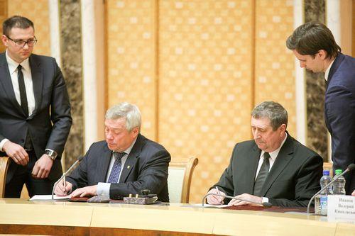 Беларусь и ростовская область подписали протокол о развитии научного сотрудничества
