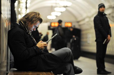Бесплатный wi-fi заработал на замосковорецкой линии московского метро