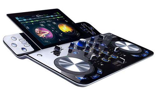 Беспроводной dj-пульт djcontrolwave для ipad