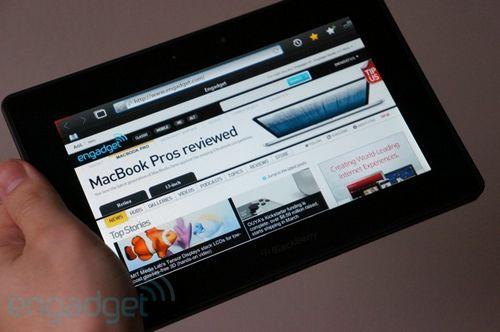 Blackberry 10 не появится на планшетах playbook, но поставлено почти 3 млн устройств на операционке