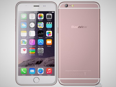 Blackview ultra plus станет практически полной копией iphone 6s plus