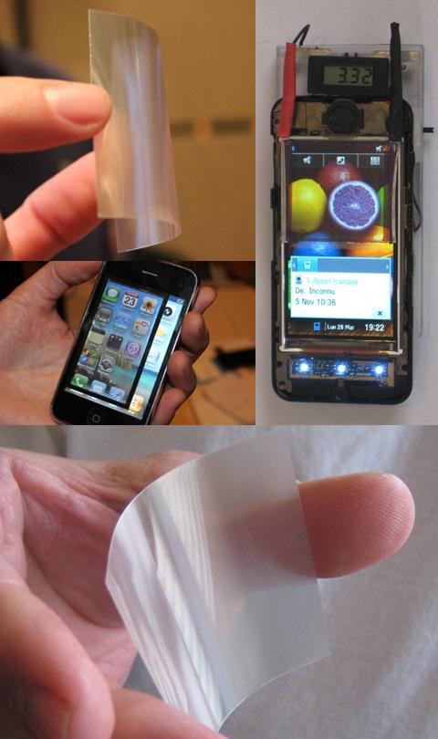 Благодаря изобретению wysips дисплей будет заряжать аккумулятор
