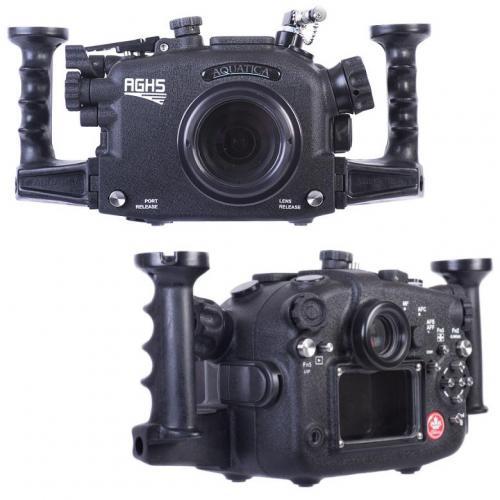Бокс aquatica agh5 позволяет снимать камерой panasonic lumix dc-gh5 на глубинах до 130 м
