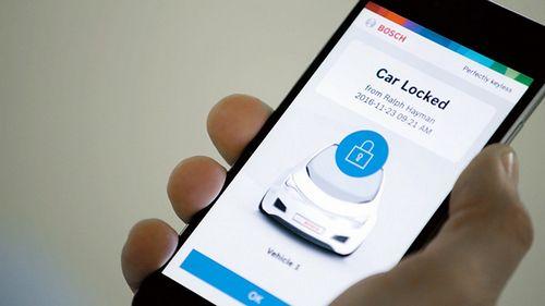 Bosch превратит смартфоны в цифровые ключи от автомобилей