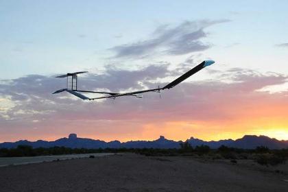 Британский беспилотник на солнечных батареях пробыл в воздухе 11 суток