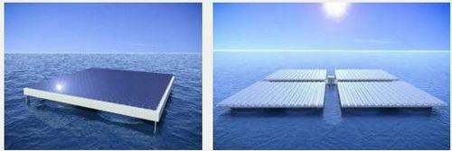 Будут созданы солнечные панели, держащиеся на плаву в океане