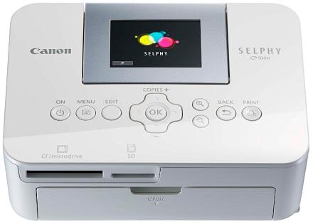 Canon представила новый компактный фотопринтер selphy cp1000