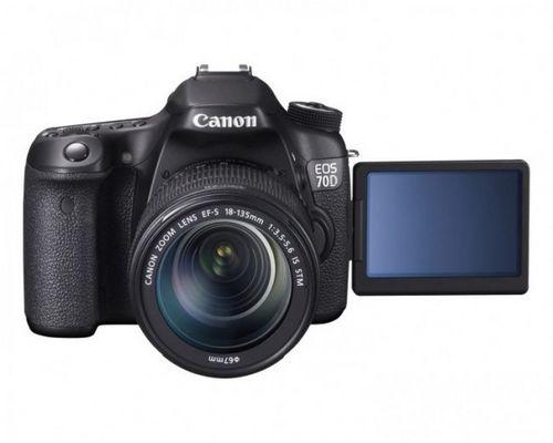 Canon представила зеркальную камеру eos 70d с мгновенной фокусировкой