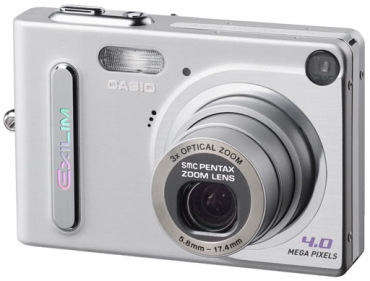 Casio представил первую 4-мегапиксельную камеру exilim