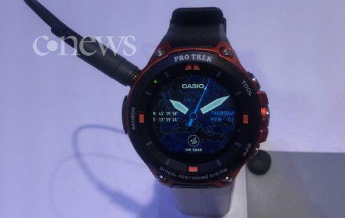 Casio выпустила «умные часы» под управлением android