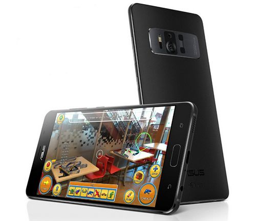 Ces 2017. asus zenfone ar стал первым смартфоном с 8 гб оперативной памяти