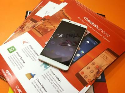 Cheetahphone стал доступным флагманом от cubot и разработчиков clean master