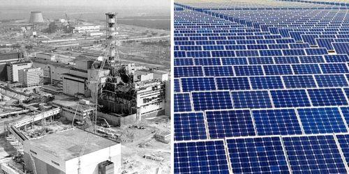 Чернобыльская зона: место для крупнейшей солнечной электростанции?