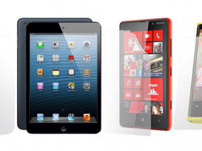 Clear-coat для nokia lumia 920, nokia lumia 820, htc desire x и apple ipad mini
