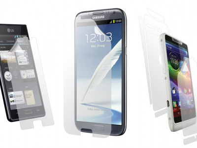Clear-coat для samsung galaxy note 2, lg optimus l7 и motorola droid razr m