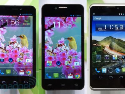 Computex: трио недорогих смартфонов от gigabyte