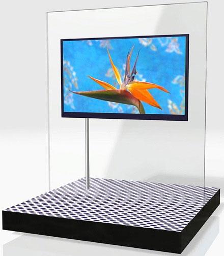 Cоздан самый тонкий жк-телевизор
