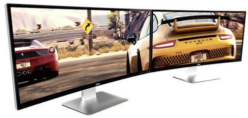 Dell анонсировала изогнутый 34-дюймовый монитор ultrasharp u3415w разрешением 3440 x 1440 точек