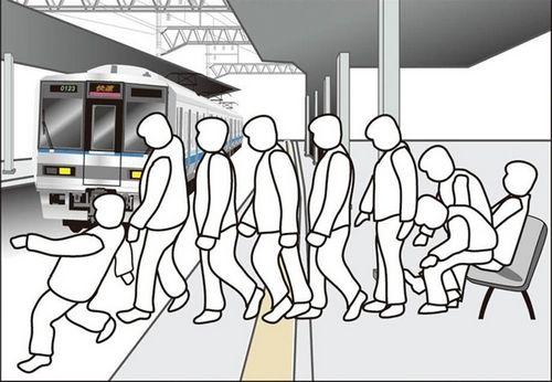 Дизайн как способ предотвращения падений пьяных в метро