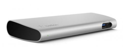 Док-станция belkin thunderbolt 3 express dock hd призвана решить главную проблему новых пк macbook pro