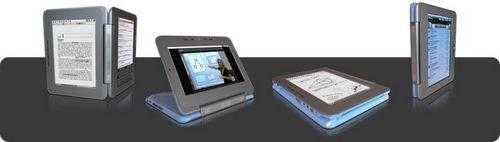 Двухдисплейный ридер edge появится в продаже в феврале 2010