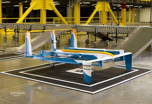 Джереми кларксон представил курьерский дрон от amazon (3 фото + видео)