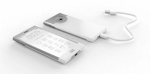 E-phone - концепт смартфона с e-ink-дисплеем