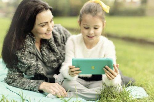 Ee robin - планшет для детей с родительским контролем (3 фото)