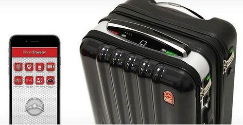 Еще один «поумневший» чемодан