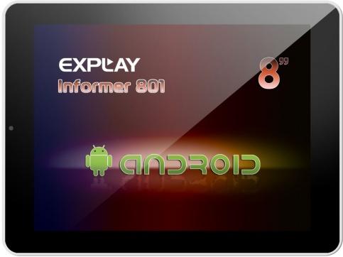 Explay informer 801 - новая бюджетная модель