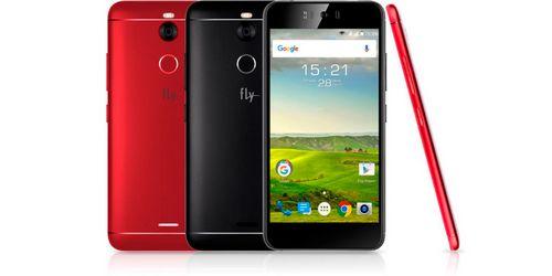 Fly выпустил lte-смартфон для селфи
