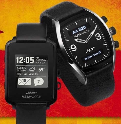 Fossil и ti раскрыли некоторые детали платформы meta watch для наручных часов