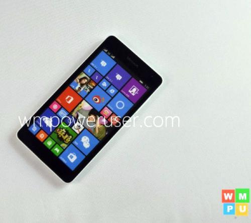 Фотогалерея дня: смартфон microsoft lumia 535 накануне анонса