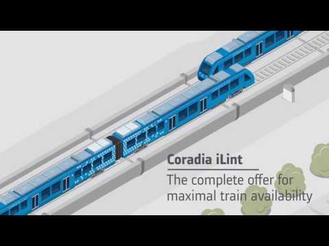 Французы представили водородный поезд