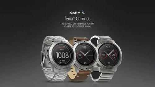 Garmin fenix chronos пополнили ряды премиальных смарт-часов