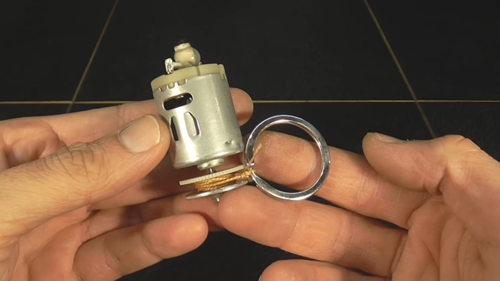 Генератор — зажигалка с мотором