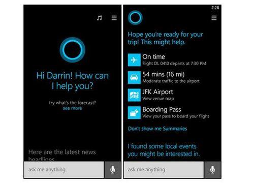 Голосовой ассистент cortana может успешно работать на android